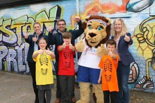 Smile for a Mile at Neston Primary School