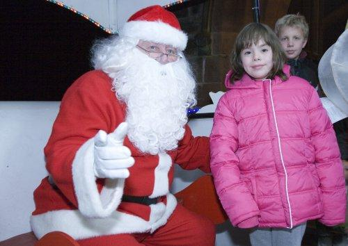 Santa at Neston Parish Church 014