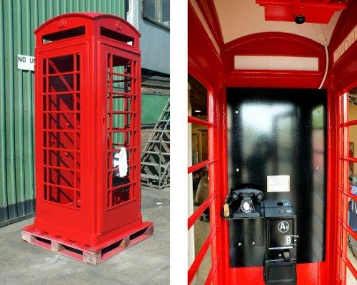 Hadlow Road Station, K6 telephone box