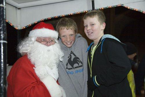 Santa at Neston Parish Church 021