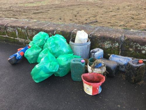 Parkgate Rubbish Cleared Following High Tides