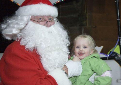 Santa at Neston Parish Church 012