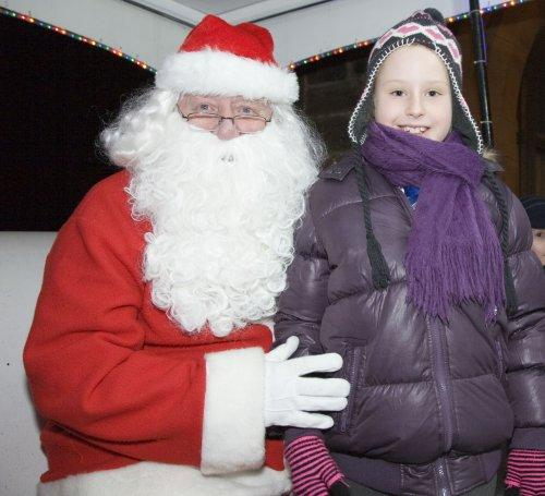 Santa at Neston Parish Church 016
