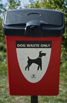 Dog bin