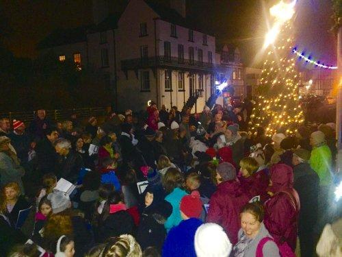 Christmas cheer comes to Parkgate