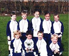 St Winefride's tag rugby team