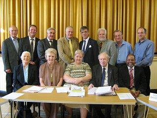 Inaugural meeting of Neston Town Council