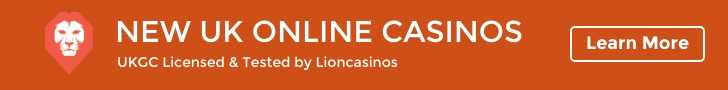 List of safe & tested UK online casinos from Lioncasinos